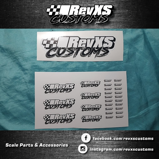 RevXS Customs Sticker Pack