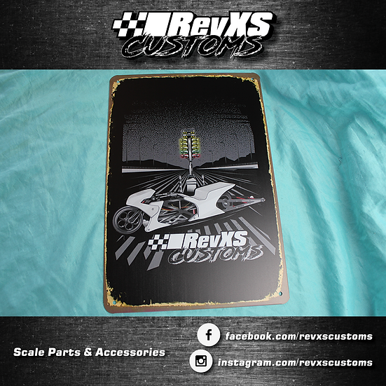 RevXS Custom Metal Signs