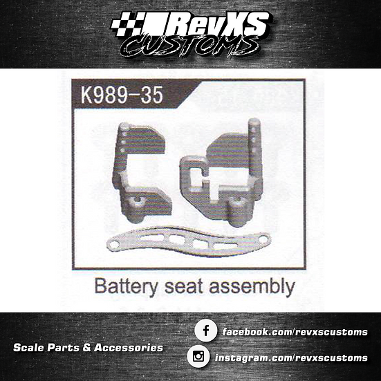 K989-35 Battery Tray and Strap