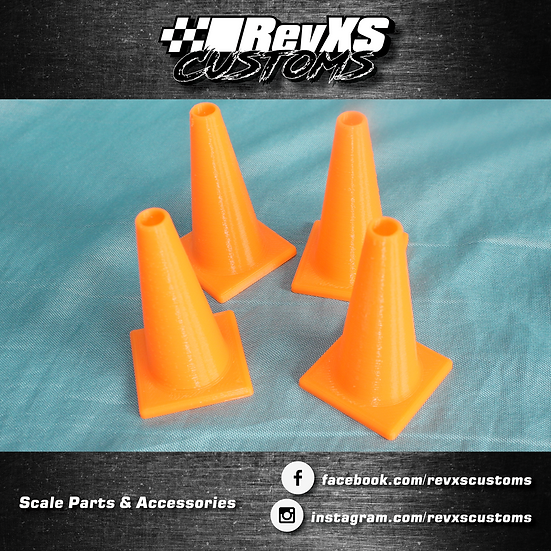 1/10th Scale Traffic Cones