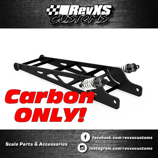 """10"""" Long Traxxas Wheeliebars (Carbon ONLY)"""