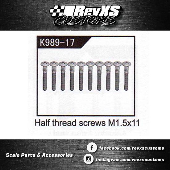 K989-17 Screw M1.5*11