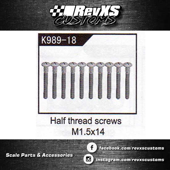 K989-18 Screw M1.5*14