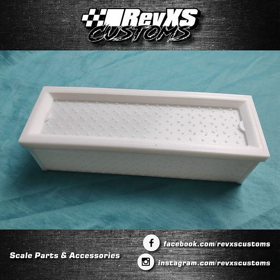 1/10th Scale Chequer Plate Toolbox