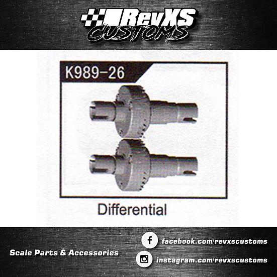K989-26 Unlocked Differential