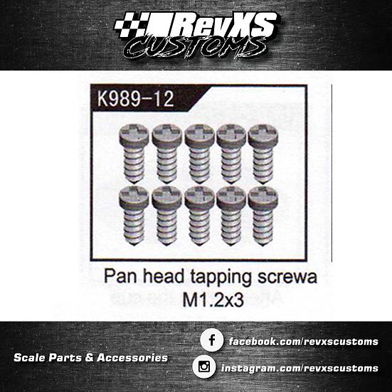 K989-12 Screw M1.2*3