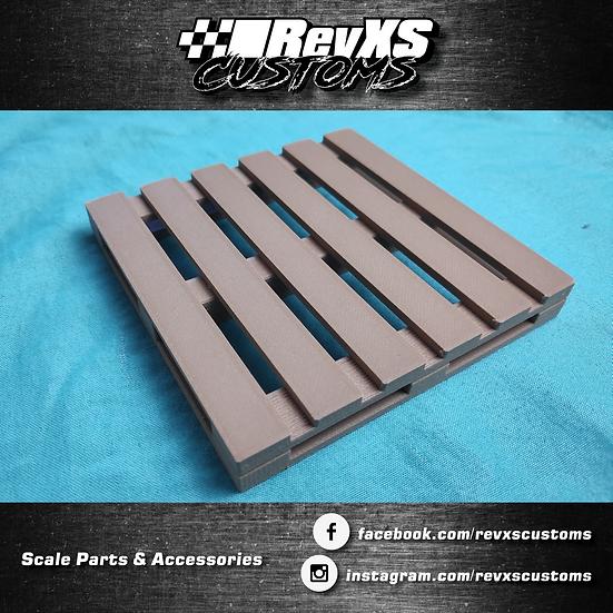 Scale Garage Wood Pallet