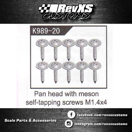 K989-20 Screw M1.4*4
