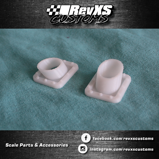 1/10th Scale Dump Style Exhausts