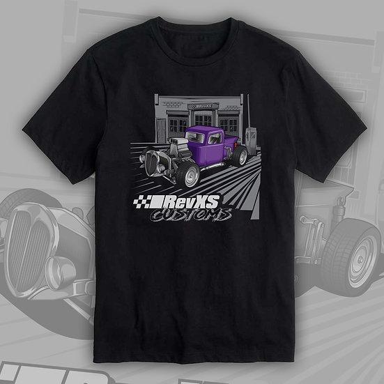 RevXS Customs Hotrod Truck Shirt