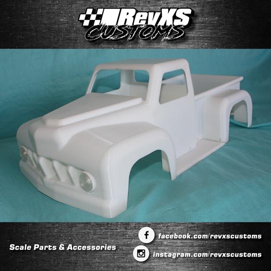 1/10th ScaleTruck Cab Body