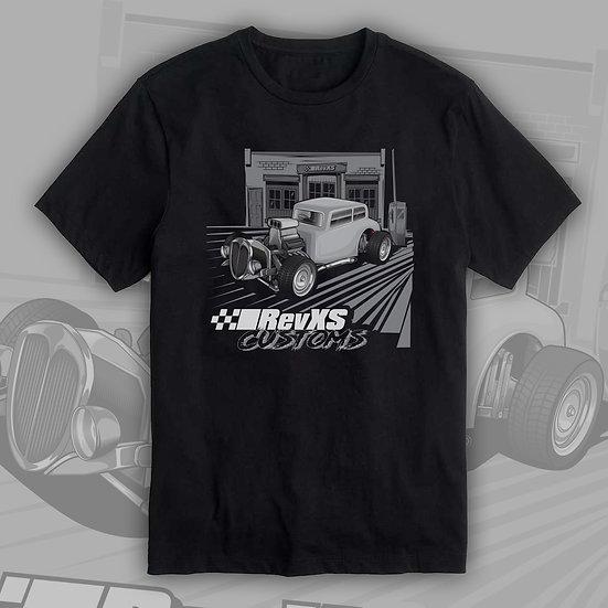 RevXS Customs Hotrod Coupe Shirt