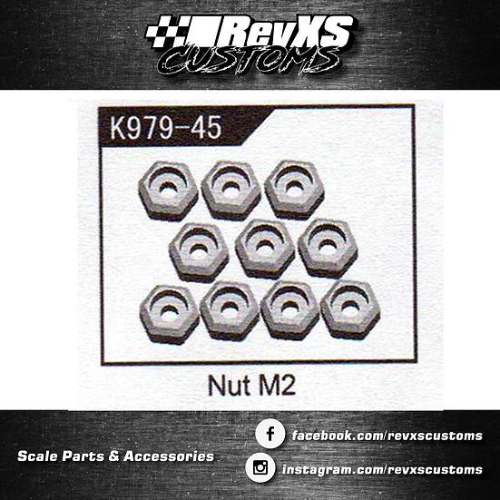 K989-45 M2 Wheel Nut