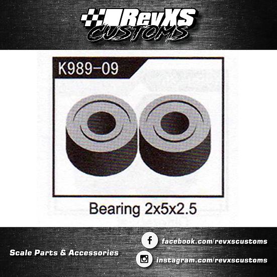 K989-09 Bearing 2*5*2.5