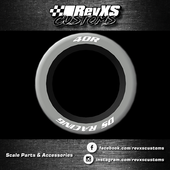 DS Racing Mini Touring Rubber Wheels 1/28th