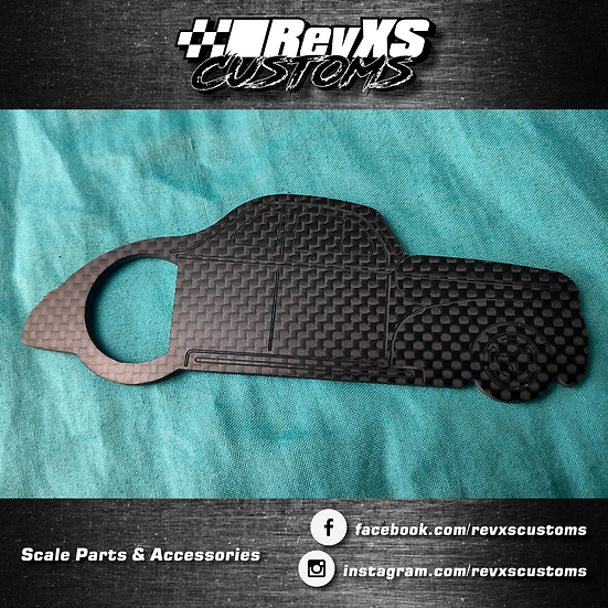 Carbon Fibre Hotrod Bottle Opener