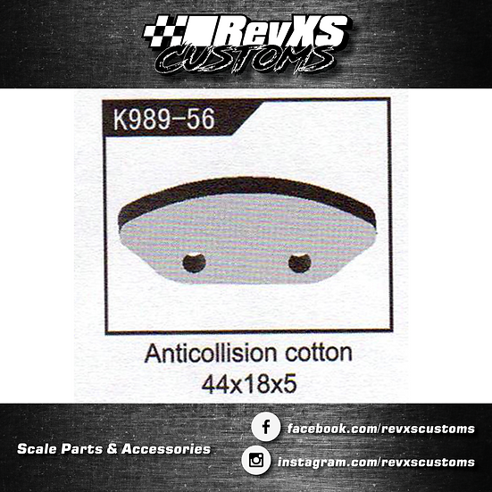 K989-56 Foam Front Bumper