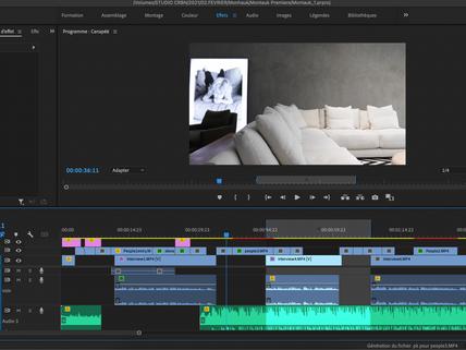 Réalisation d'une vidéo - Mon workflow