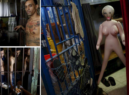 Inside the cramped and grimy Panama prison where inmates are forced to wait years before being...