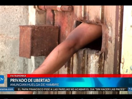 Nex TV videoed an inmate in La Joya with his hand out of a door, if only the film crew knew this was