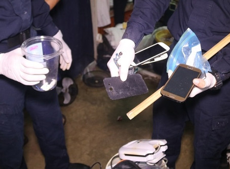 They seize firearms, ammunition and illegal substances in La Joya-October 2019