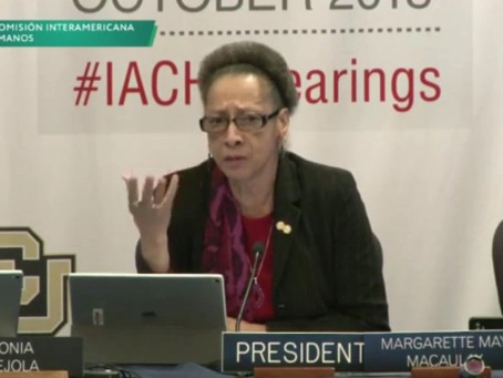 IACHR to examine Panamáhuman rights cases.