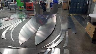 CNC boat parts kit