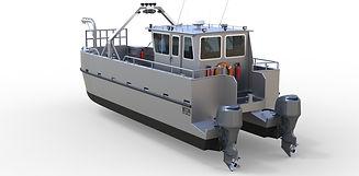 catamaran landing craft MT34