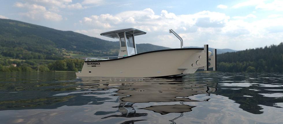 electric aluminum boat.JPG
