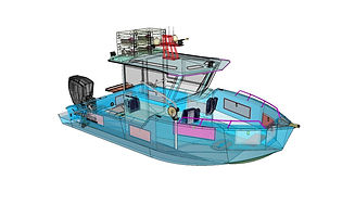 CAD DRAWING NAVAL ARCHITECTURE CUSTOM BO