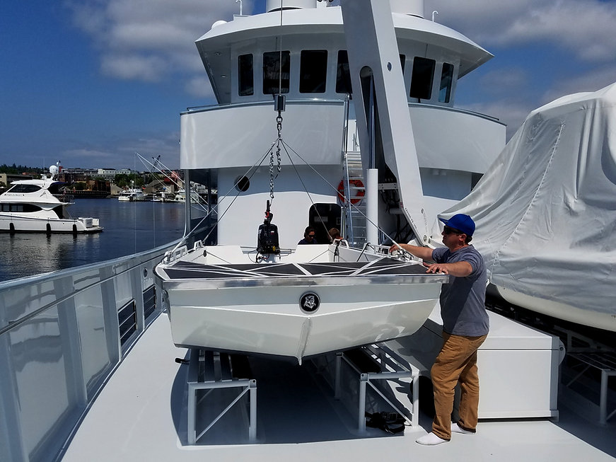 yacht tender custom superyacht landing craft