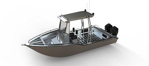 commercial aluminum workboat