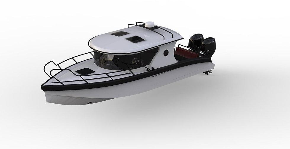 RIB collar fast boat commuter patrol sj2