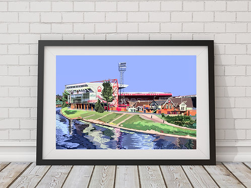 The City Ground, Nottingham Forest FC Stadium