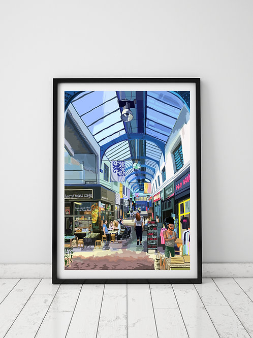 Brixton Village Interior, South London