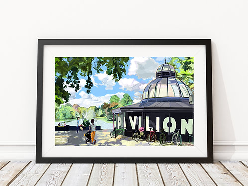 Pavilion Cafe, Victoria Park, Hackney, East London