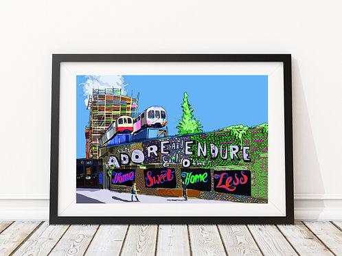 Adore and Endure, Village Underground, Shoreditch