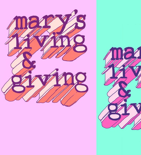 Mary's Living & Giving Product Design