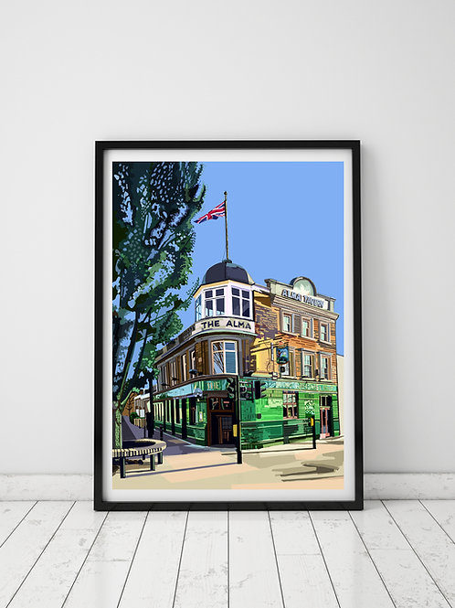 The Alma Pub & Hotel, Wandsworth Town, South London