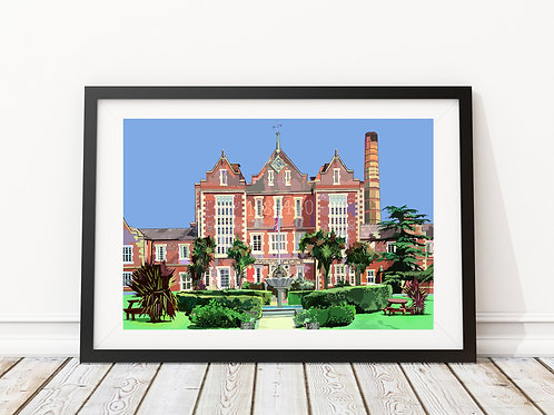 Springfield University Hospital, Tooting, South London