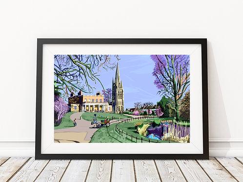 Clissold Park, Stoke Newington, Hackney
