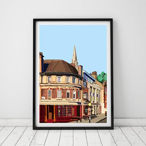 The Rose and Crown Pub, Stoke Newington Church Street