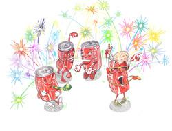 Coca-Cola NYE Party