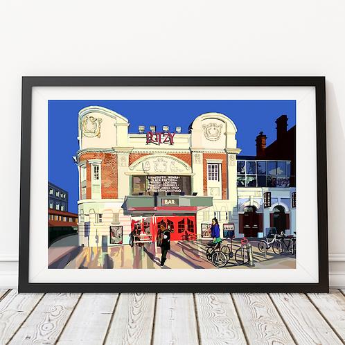 The Ritzy Cinema, Brixton, South London