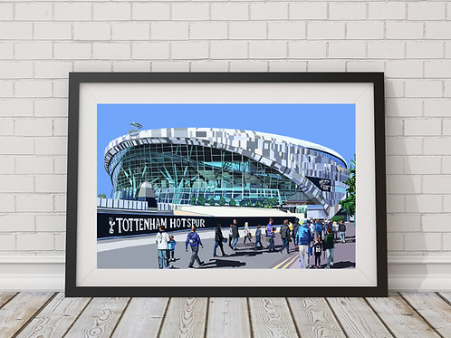 Tottenham Hotspur Stadium (Spurs Stadium), White Hart Lane, North London, N17