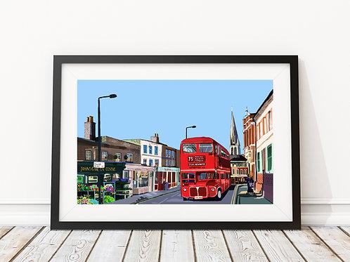 Stoke Newington Church Street, Hackney