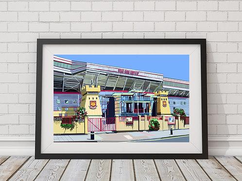 Boleyn Ground, West Ham United Stadium (Upton Park), East London