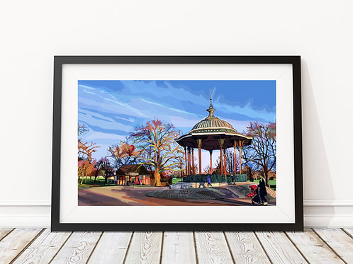 The Bandstand, Clapham Common