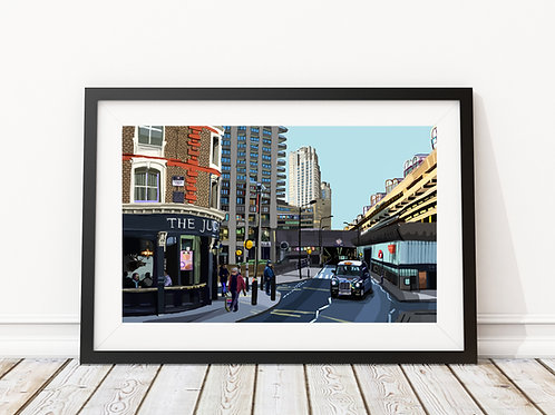 The Barbican and Jugged Hare, City of London