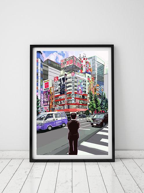 Salaryman, Tokyo, Japan